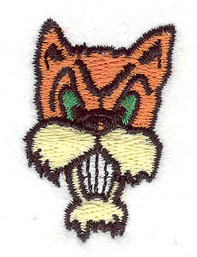 """Embroidery Design: Cat A 1.16""""w X 1.70""""h"""