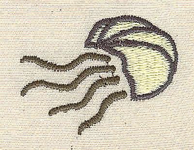 Embroidery Design: Jellyfish 1.60w X 1.20h