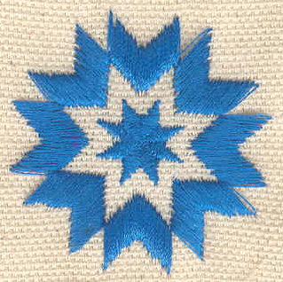Embroidery Design: Star  1.51w X 1.51h
