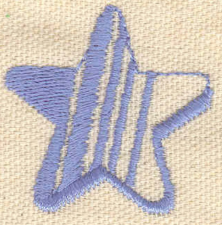 Embroidery Design: Star 1.54w X 1.57h