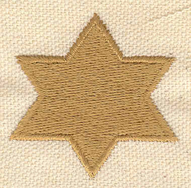 Embroidery Design: Star 1.70w X 1.70h