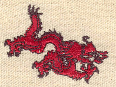 Embroidery Design: Chinese dragon 2.09w X 1.60h