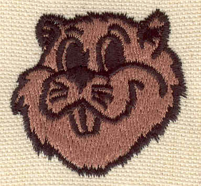 Embroidery Design: Gopher 1.69w X 1.67h