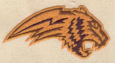 Embroidery Design: Tiger head 3.52w X 1.78h
