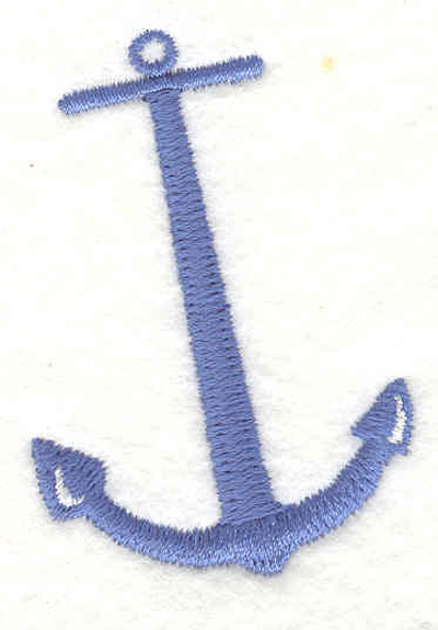 "Embroidery Design: Anchor A 1.63""w X 2.35""h"