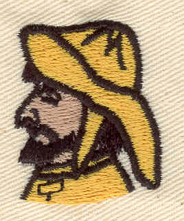 Embroidery Design: Fisherman 1.08w X 1.32h
