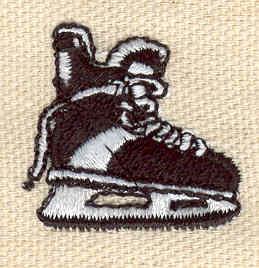 Embroidery Design: Hockey skate 1.09w X 1.04h