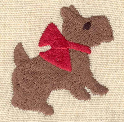 Embroidery Design: Puppy 2.15w X 2.24h
