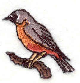 Embroidery Design: Robin 1.16w X 1.21h