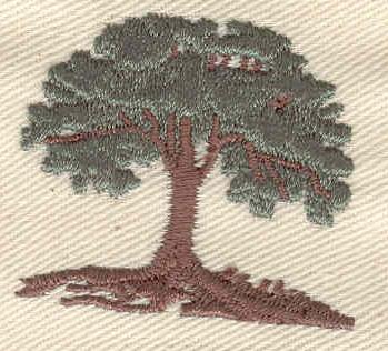 Embroidery Design: Tree 1.53w X 1.39h