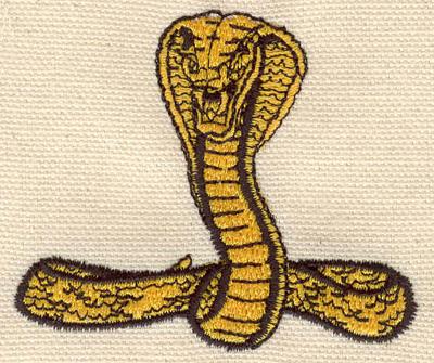 Embroidery Design: Cobra C 2.28w  X 2.68h