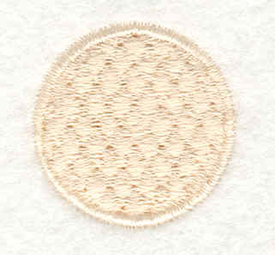 "Embroidery Design: Golf ball  1.19""w X 1.19""h"