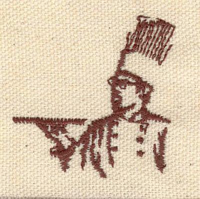 Embroidery Design: Chef 1.66w X 1.68h
