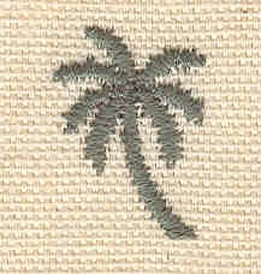Embroidery Design: Mini palm 0.62w X 0.90h