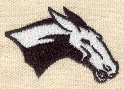 Embroidery Design: Mule 2.21w X 1.56h