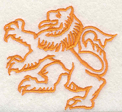 "Embroidery Design: Griffin E2.51""Hx2.71""W"