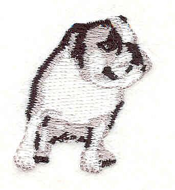 """Embroidery Design: Bulldog M1.49"""" x 1.29"""""""