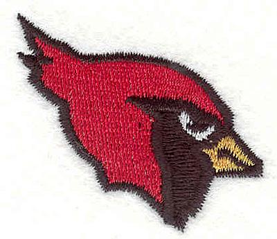 "Embroidery Design: Cardinal 31.60"" x 1.87"""