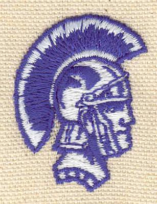 Embroidery Design: Roman soldier A 1.23w X 1.65h