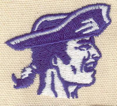 Embroidery Design: Patriot 2.14w X 1.89h