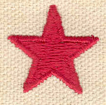 Embroidery Design: Star 0.91w X 0.89h