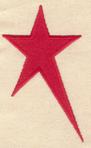 Embroidery Design: Star 2.54w X 4.24h