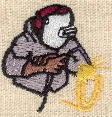 Embroidery Design: Welder 1.79w X 1.76h