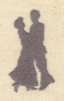 Embroidery Design: Ballroom dancers1.04w X 1.80h