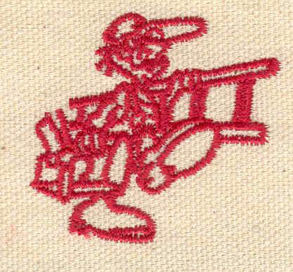 Embroidery Design: Repairman 1.82w X 1.65h