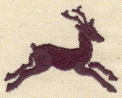 Embroidery Design: Deer B2.48w 1.94h