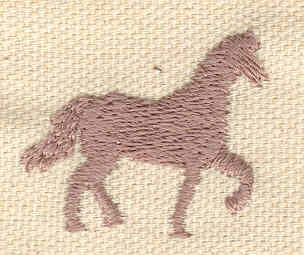Embroidery Design: Horse 1.24w X 1.02h