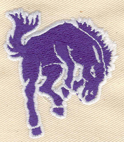 Embroidery Design: Horse bucking 2.07w X 2.29h