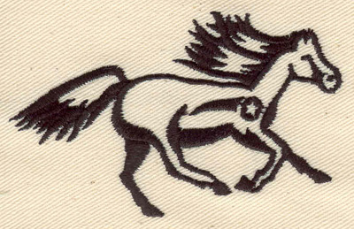 Embroidery Design: Horse 3.22w X 1.99h