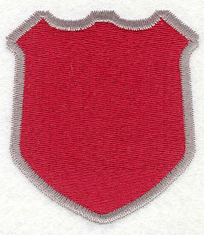 """Embroidery Design: Shield 23.12""""x2.80"""""""