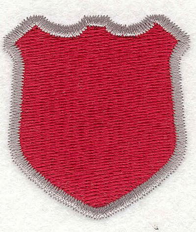 """Embroidery Design: Shield 32.06""""x1.87"""""""