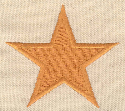 Embroidery Design: Star 2.99w X 2.72h