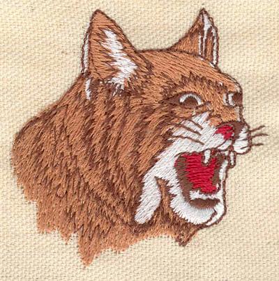 Embroidery Design: Wildcat 2.41w X 2.49h