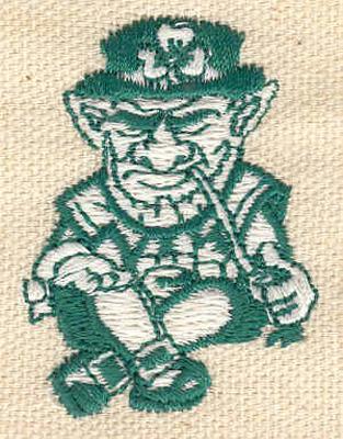 Embroidery Design: Leprechaun B 1.28w X 1.76h