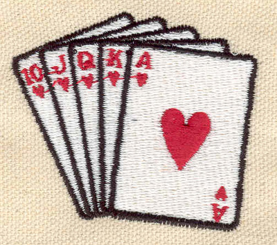 Embroidery Design: Cards 2.28w X 1.97h