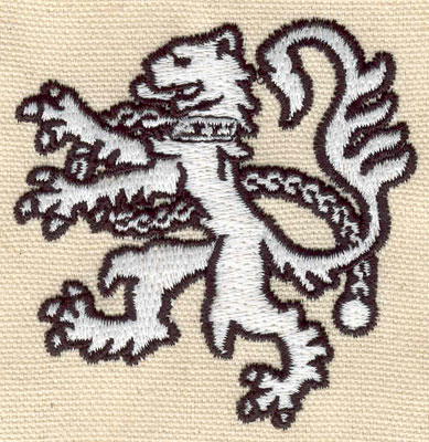 Embroidery Design: Gryphon 2.69w X 2.77h