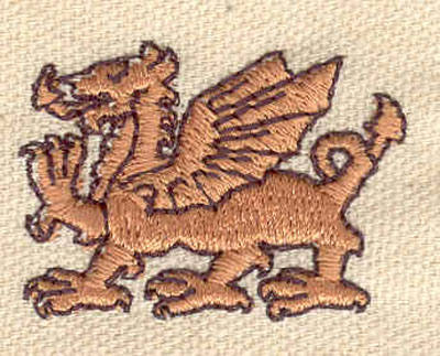 Embroidery Design: Griffon 1.50w X 1.09h