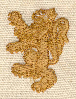 Embroidery Design: Lion 1.23w X 1.67h
