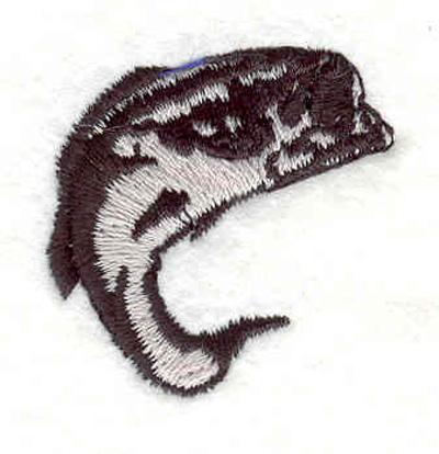 """Embroidery Design: Bass E 1.32""""w X 1.31""""h"""