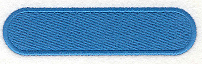 """Embroidery Design: Banner 141.02"""" x 4.04"""""""