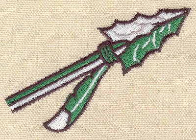 Embroidery Design: Arrow 3.20w X 2.12h