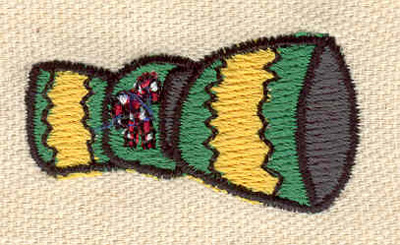 Embroidery Design: Cracker 1.72w X 0.90h
