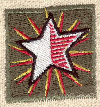 Embroidery Design: Star 1.67w X 1.66h