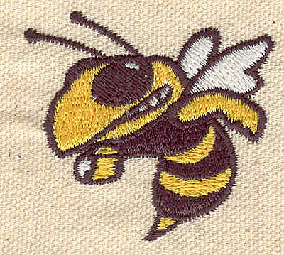 Embroidery Design: Hornet 1.95w X 1.83h