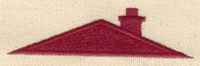 Embroidery Design: Roof   3.38w X 0.90h