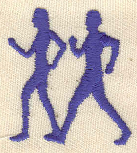 Embroidery Design: Walkers 1.30w X 1.36h